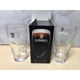 トウヨウササキガラス(東洋佐々木ガラス)のギネス ビールグラス 2個セット GUINNSS Beer(グラス/カップ)