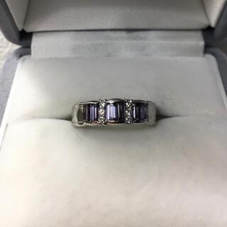 キョウセラ(京セラ)の京セラ クレサンベール 再結晶アレキサンドライト リング Pt950 6.9g(リング(指輪))