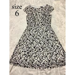 TOCCA - 美品 TOCCA GYPSY DEEP ROSE ドレス 6 花柄 刺繍