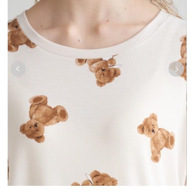 gelato pique(ジェラートピケ)のジェラートピケ ベアモチーフ レディースのルームウェア/パジャマ(ルームウェア)の商品写真