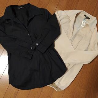 ボッシュ(BOSCH)のボッシュ シャツ ブラウス ベージュシャツ(シャツ/ブラウス(長袖/七分))