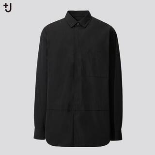 UNIQLO - ユニクロ J スーピマコットン オーバーサイズシャツ 長袖