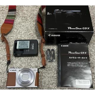 Canon - 大人気機種★美品★Canon PowerShot G9 Xシルバー★ストラップ付