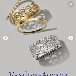 Vendome Aoyama - ヴァンドーム青山 k18 3本セットリング
