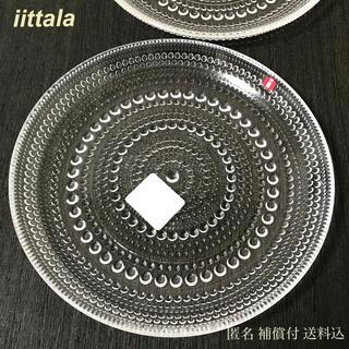 イッタラ(iittala)の新品未使用【1点】イッタラ カステヘルミ プレート 17 クリア(食器)