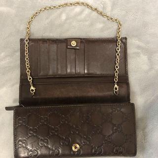 Gucci - グッチ チェーンウォレット 財布