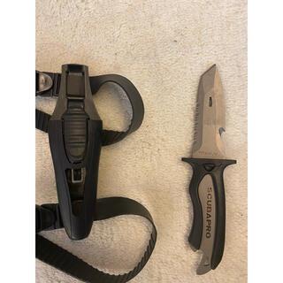 スキューバプロ(SCUBAPRO)のスキューバダイビング SCUBAPRO ナイフ(マリン/スイミング)
