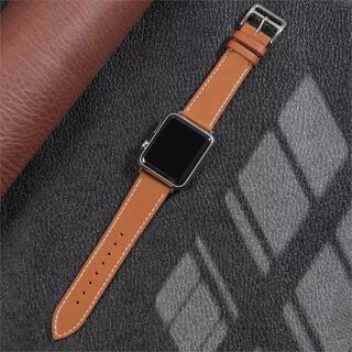 Apple Watch - Apple Watch バンド 38/40mm レザー 革