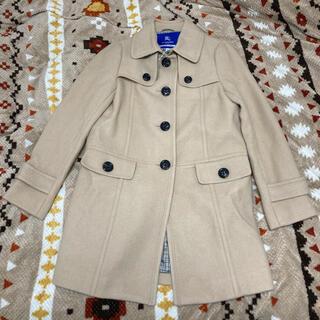 BURBERRY BLUE LABEL - バーバリーブルーレーベル 裏地チェック コート 新品タグ付 38サイズ