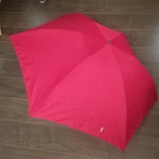 ラルフローレン(Ralph Lauren)の【USED】ラルフローレン  折りたたみ傘  レッド(傘)