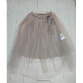 イエナ(IENA)の美品 イエナ IENA チュールスカートサイズ36(ひざ丈スカート)