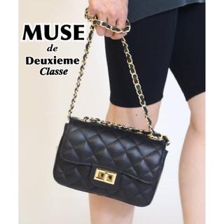 DEUXIEME CLASSE - 【AULENTTI/オウレンティ】CHAIN BAG チェーンバッグ ブラック