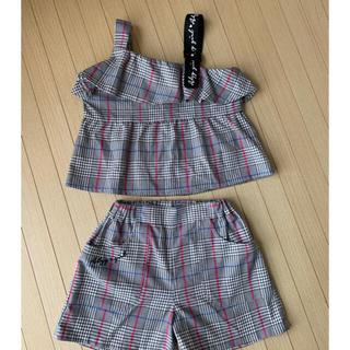 ALGY 女の子 子供服 セットアップ 130