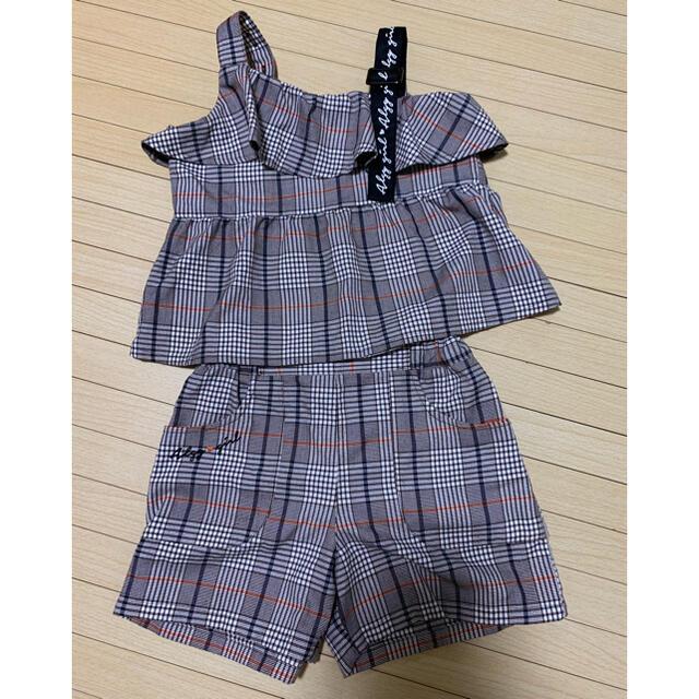 ALGY 女の子 子供服 セットアップ 140 キッズ/ベビー/マタニティのキッズ服女の子用(90cm~)(その他)の商品写真