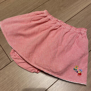 familiar - ファミリア パンツ付きスカート