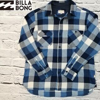 billabong - BILLABONG ビラボン ブロックチェック シャツ【L】ネルシャツ