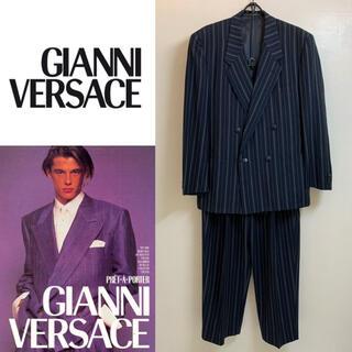ジャンニヴェルサーチ(Gianni Versace)のGIANNI VERSACE VINTAGE イタリア製 セットアップ スーツ(セットアップ)