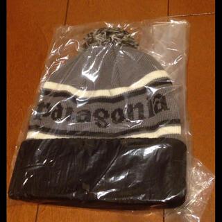 パタゴニア(patagonia)のパタゴニアニット帽 新品未使用(ニット帽/ビーニー)