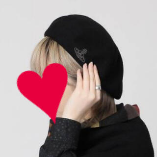 Vivienne Westwood - Vivienne Westwood ベレー帽 ベーシックバスク 黒 ブラック