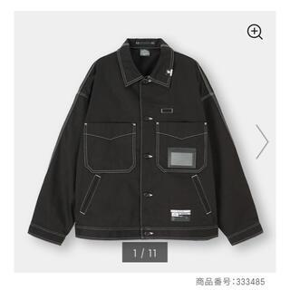 ジーユー(GU)の【新品 XL】ミハラヤスヒロ x GU シェフジャケット(カバーオール)