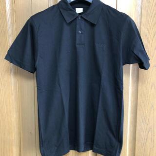 ジャンニヴェルサーチ(Gianni Versace)のベルサーチVERSACEポロシャツ黒(ポロシャツ)