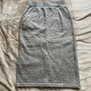 UNIQLO - 冬物セール★ユニクロ★ボアスエットタイトスカート