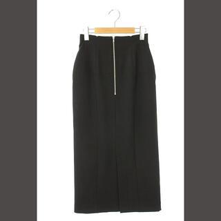 snidel - スナイデル snidel 20SS シンプルタイトスカート ロング 0 黒 /H