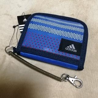 アディダス(adidas)のadidas 子ども用財布 ブルー(財布)