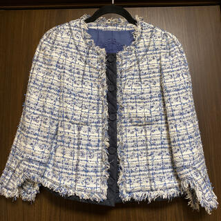 TO BE CHIC - TO BE CHIC ツイードジャケット 42