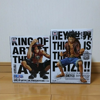 BANPRESTO - ワンピースKING OF ARTIST THE LUFFY&ACE