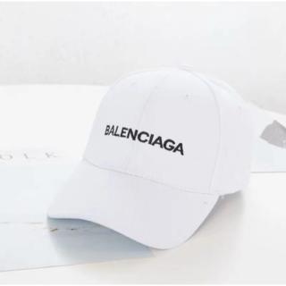Balenciaga - バレンシアガ 帽子 キャップ ホワイト