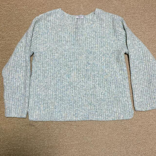 プードゥドゥ(POU DOU DOU)のミックスカラーニット(ニット/セーター)