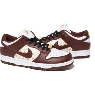 Supreme - supreme NIKE dunk low brown 27cm