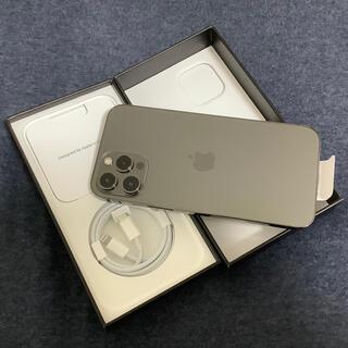 Apple - iPhone 12 pro Max 256GB グラファイト 未使用simフリー
