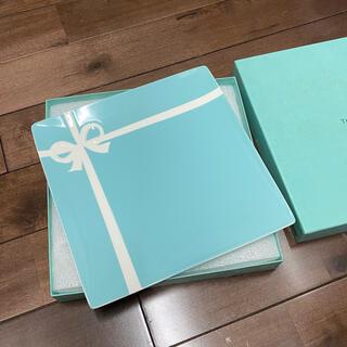 Tiffany & Co. - ティファニー 大皿 リボン ティファニーブルー