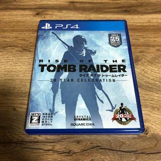 PlayStation4 - ライズ オブ ザ トゥームレイダー PS4