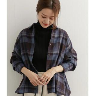 DOORS / URBAN RESEARCH - ♡ウールコットンチェックワイドシャツ♡