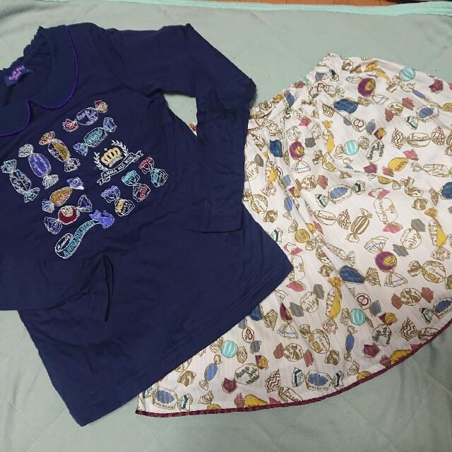 ANNA SUI mini(アナスイミニ)のANNA SUI mini キャンディセット サイズ140 キッズ/ベビー/マタニティのキッズ服女の子用(90cm~)(その他)の商品写真