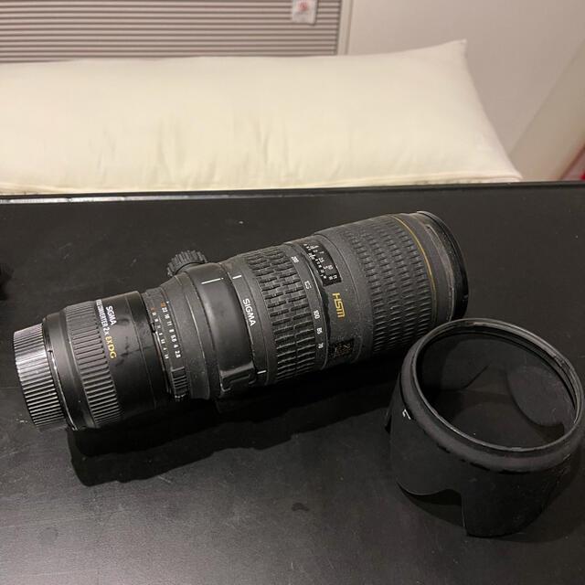 Nikon(ニコン)のSIGMA 70-200 2.8 APO HSM テレコンx2付き スマホ/家電/カメラのカメラ(レンズ(ズーム))の商品写真