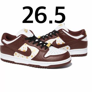 Supreme - supreme / Nike SB Dunk Low Brown 26.5
