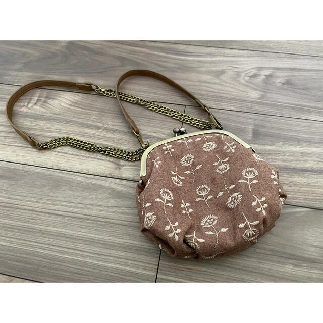 SM2(サマンサモスモス)のがま口 ショルダーバッグ SM2 レディースのバッグ(ショルダーバッグ)の商品写真