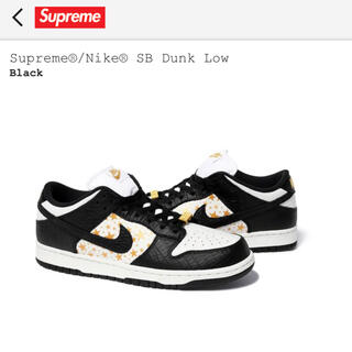 Supreme - 28cm supreme Nike SB Dunk Low
