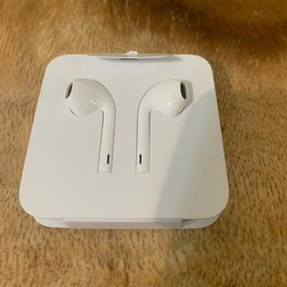 アップル(Apple)のApple イヤホン アップル純正(ヘッドフォン/イヤフォン)