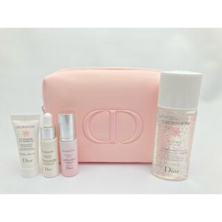 Dior - Dior ディオールスノー エッセンス + ピンクポーチ