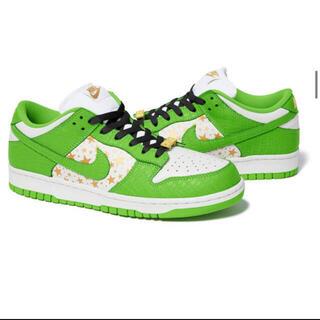 NIKE - Supreme / Nike SB dunk green 27cm