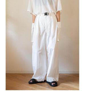 PHEENY - Cotton nylon tussah military pants