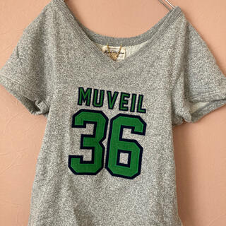 ミュベールワーク(MUVEIL WORK)のMUVEIL スウェット(トレーナー/スウェット)