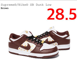 Supreme - SUPREME NIKE SB DUNK Low 28.5CM
