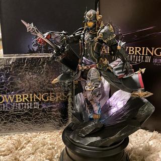 スクウェアエニックス(SQUARE ENIX)のFF14 漆黒のヴィランズ 暗黒騎士フィギュア(PCゲームソフト)