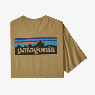 patagonia - 最安!新品タグ付!patagonia メンズ P-6ロゴ オーガニック Tシャツ
